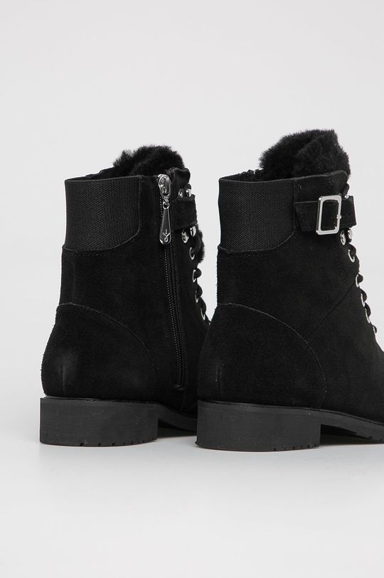 Emu Australia - Dětské semišové boty Waldron Teens  Svršek: Semišová kůže Vnitřek: Merino vlna Podrážka: Umělá hmota