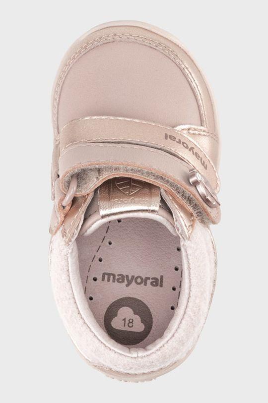 Mayoral - Detské kožené poltopánky  Zvršok: Prírodná koža Vnútro: Prírodná koža Podrážka: Syntetická látka