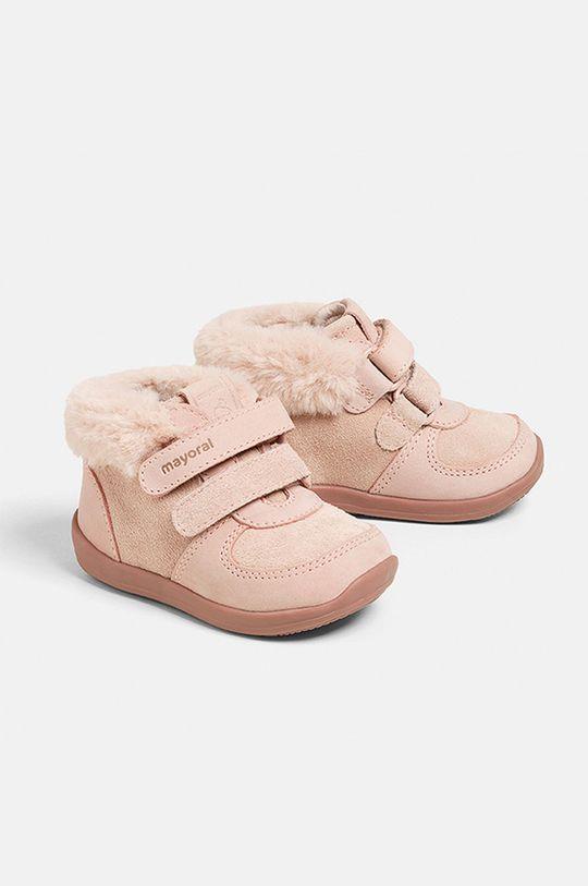 ružová Mayoral - Detské poltopánky Dievčenský