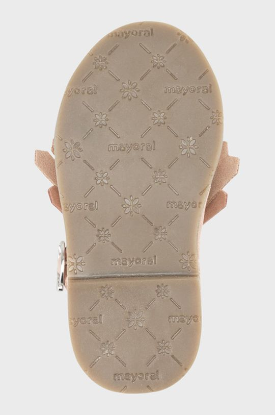 ružová Mayoral - Detské semišové topánky