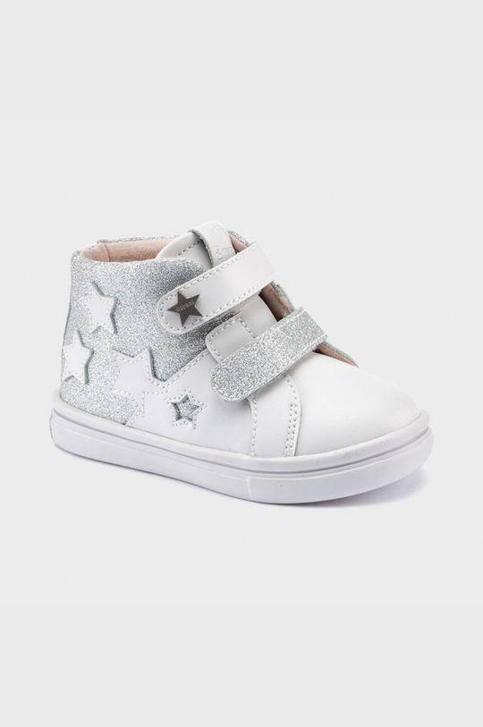 strieborná Mayoral - Detské topánky Dievčenský
