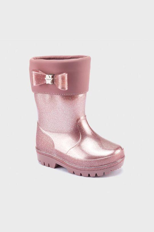 ružová Mayoral - Detské gumáky Dievčenský