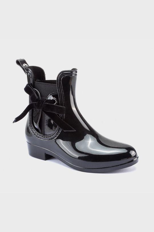 čierna Mayoral - Detské gumáky Dievčenský