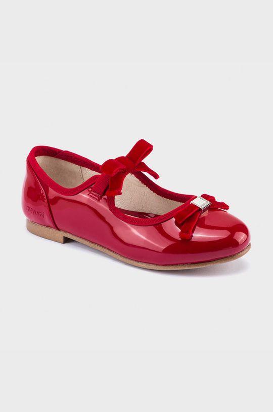 červená Mayoral - Detské balerínky Dievčenský
