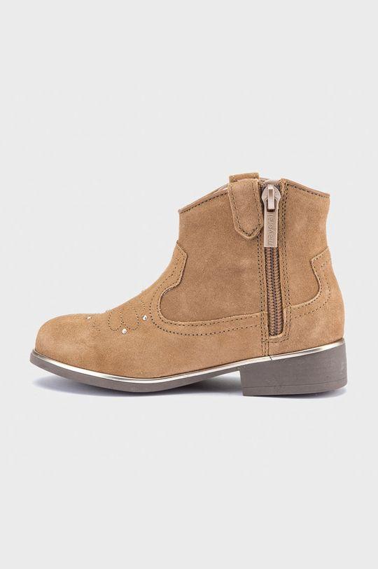 Mayoral - Dětské boty zlatohnědá