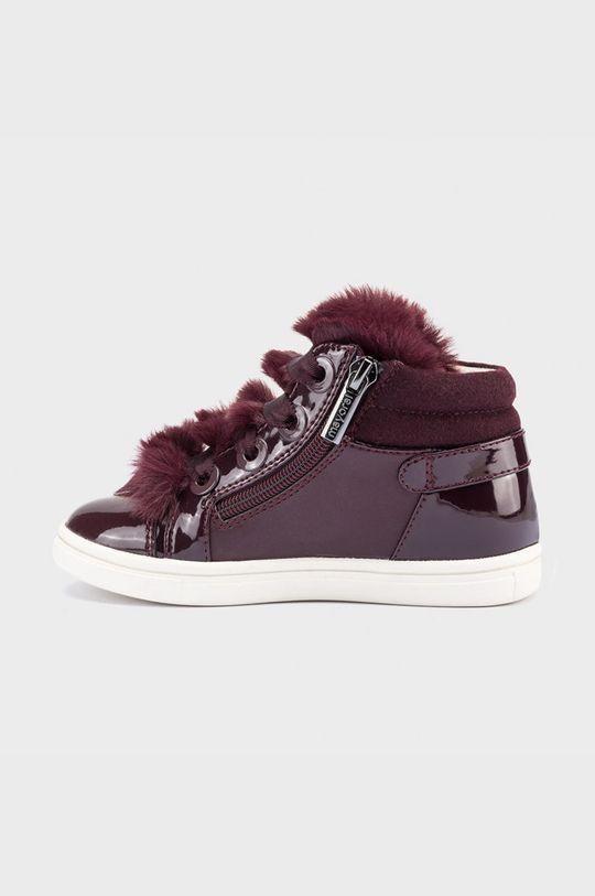 Mayoral - Detské topánky gaštanová