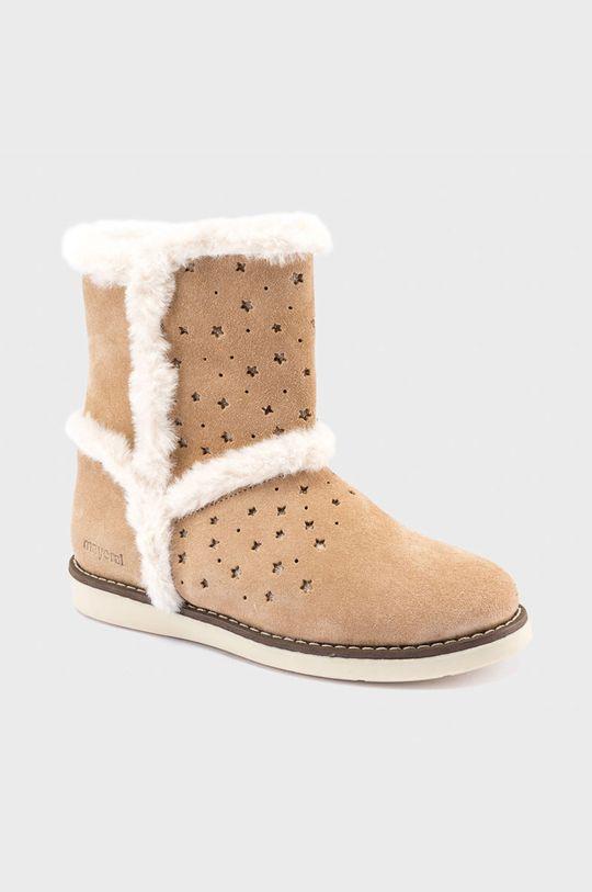szary Mayoral - Śniegowce dziecięce Dziewczęcy