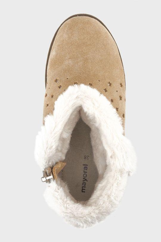 Mayoral - Śniegowce dziecięce Cholewka: Materiał tekstylny, Skóra naturalna, Wnętrze: Materiał tekstylny, Skóra naturalna, Podeszwa: Materiał syntetyczny