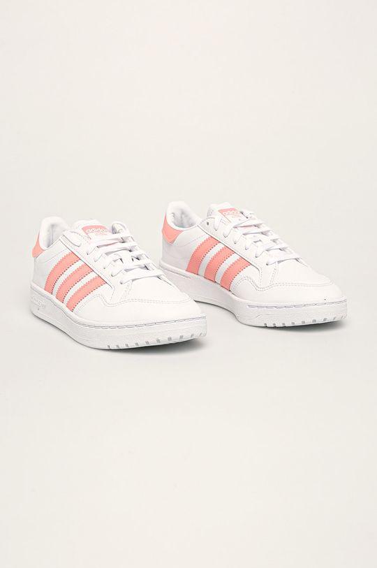 adidas Originals - Dětské boty Team Court J bílá