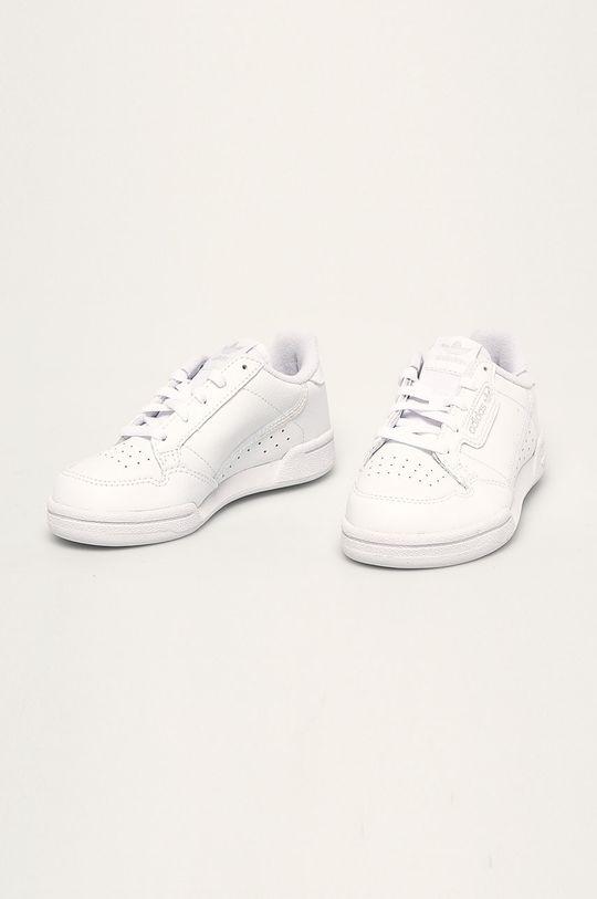 adidas Originals - Dětské boty Continental 80 C bílá