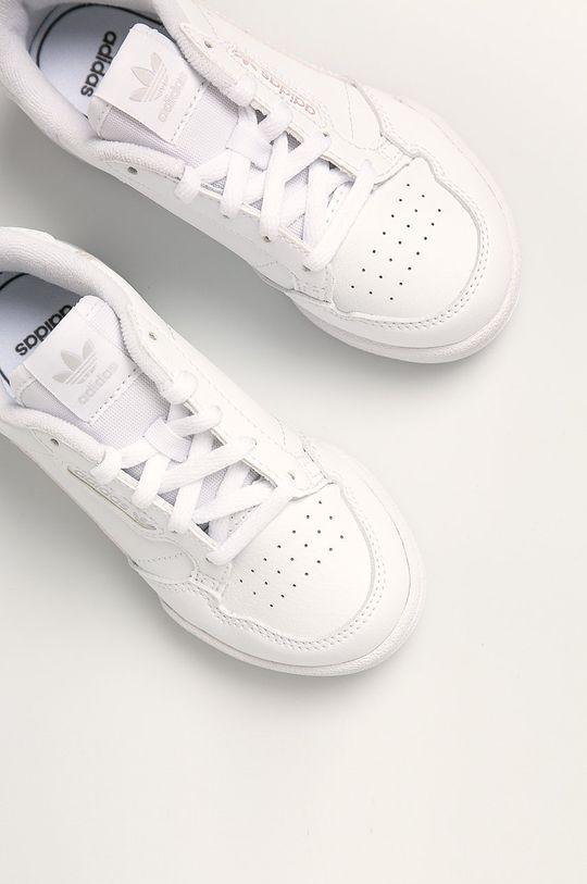 bílá adidas Originals - Dětské boty Continental 80 C