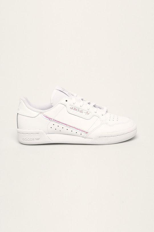 alb adidas Originals - Pantofi copii Continental 80 De fete
