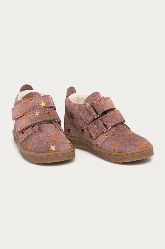 Mrugała - Дитячі черевики рожево-червоний