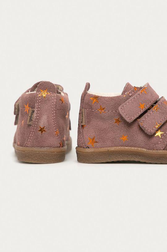 Mrugała - Дитячі черевики  Халяви: Натуральна шкіра Внутрішня частина: Натуральна шкіра Підошва: Синтетичний матеріал