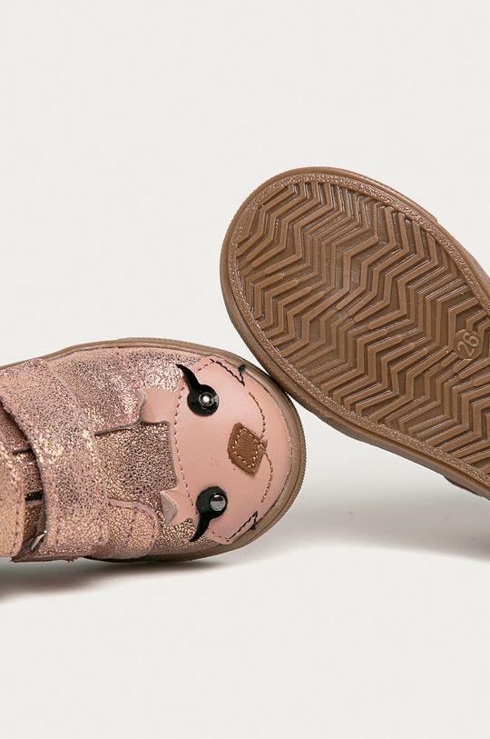 рожевий Mrugała - Дитячі черевики