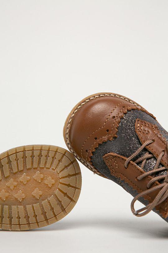 brązowy Mrugała - Półbuty dziecięce