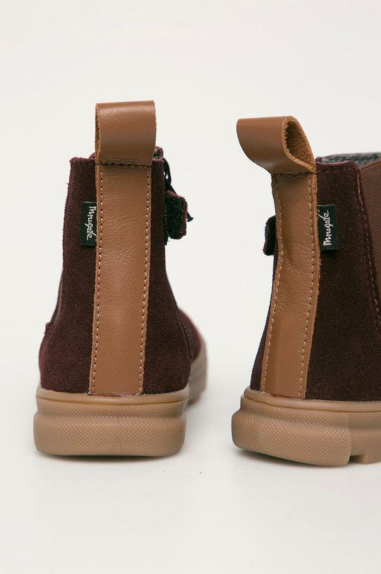 Mrugała - Детские кожаные ботинки  Голенище: Натуральная кожа Внутренняя часть: Натуральная кожа Подошва: Синтетический материал