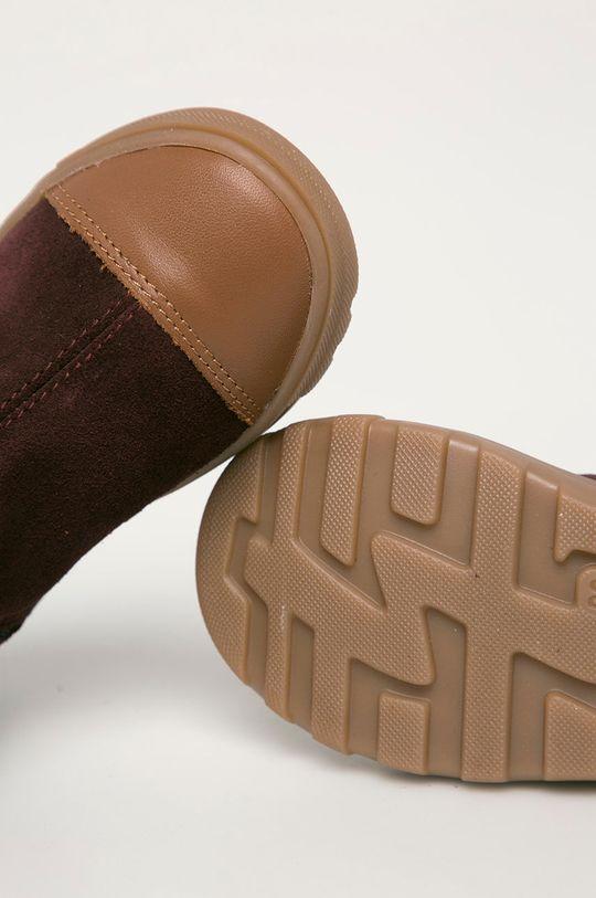 каштан Mrugała - Детские кожаные ботинки
