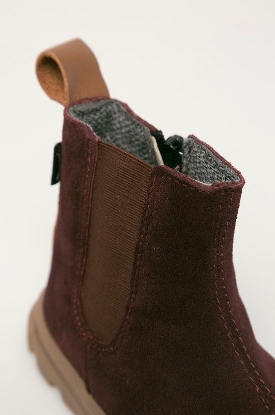 Mrugała - Детские кожаные ботинки Для девочек