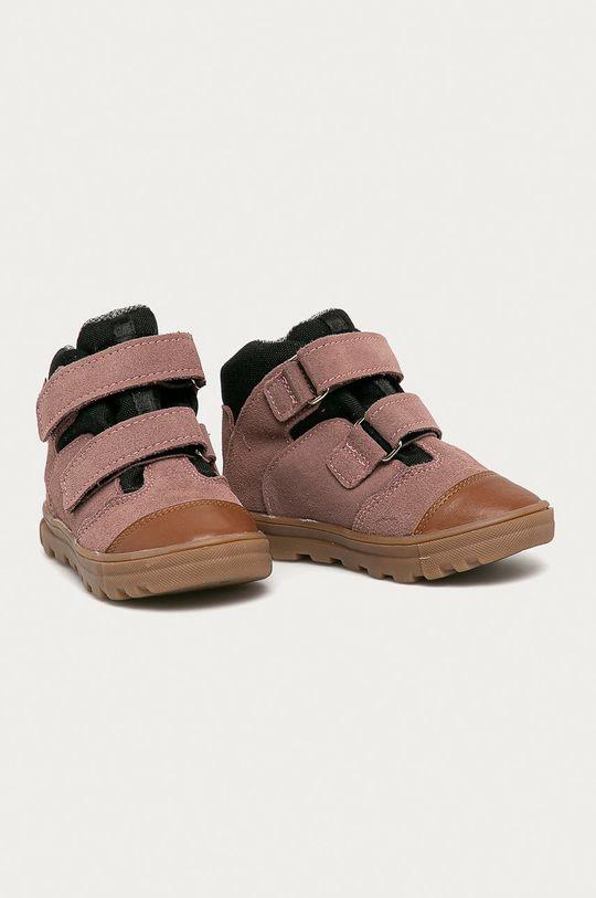 Mrugała - Dětské boty růžová