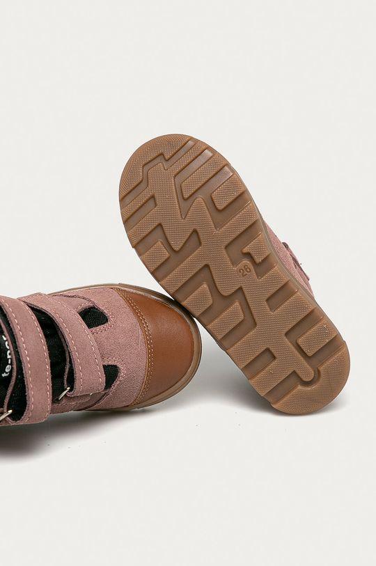 růžová Mrugała - Dětské boty