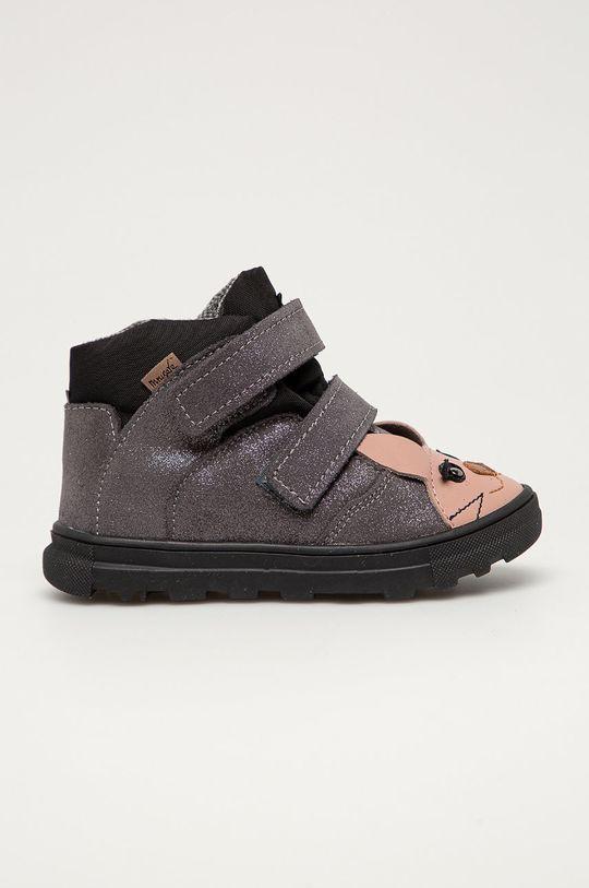 stříbrná Mrugała - Dětské boty Dívčí