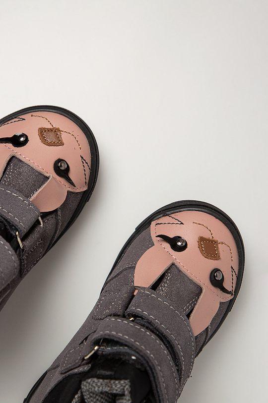 stříbrná Mrugała - Dětské boty