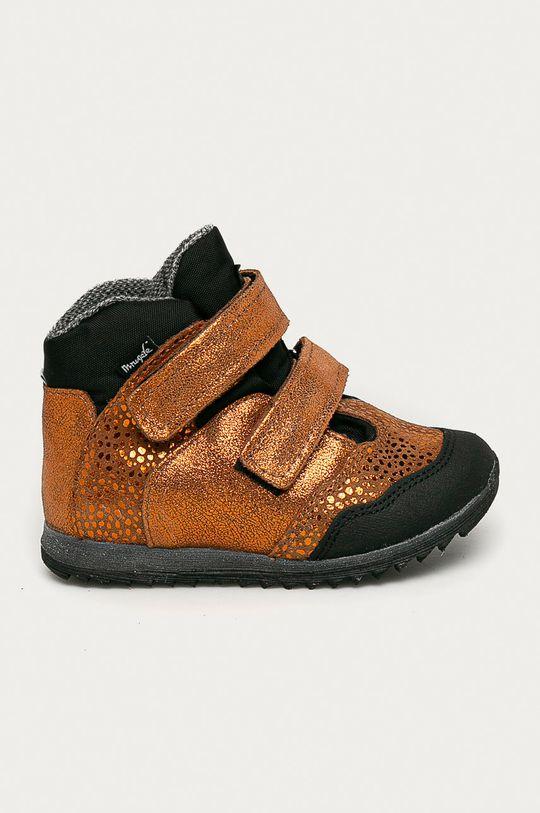 золотий Mrugała - Дитячі черевики Для дівчаток