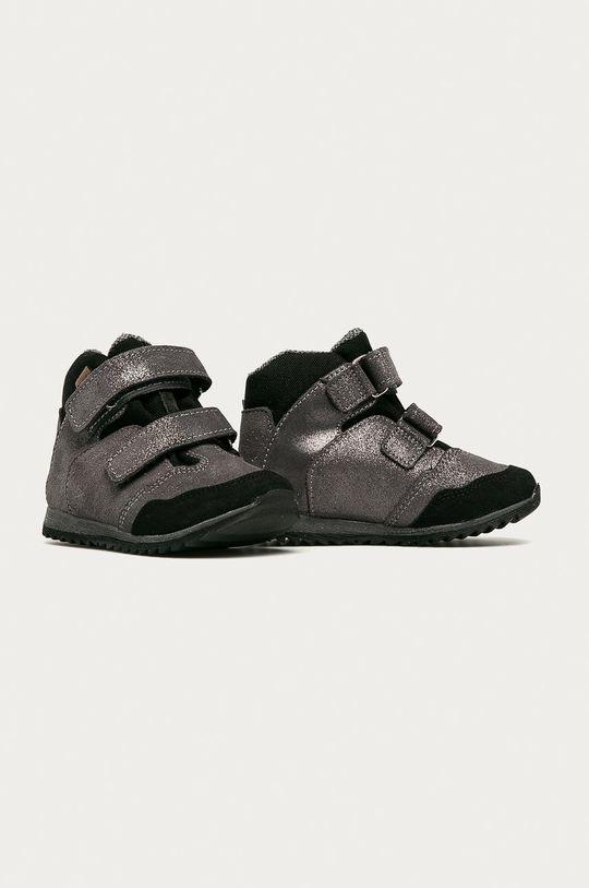Mrugała - Dětské boty stříbrná