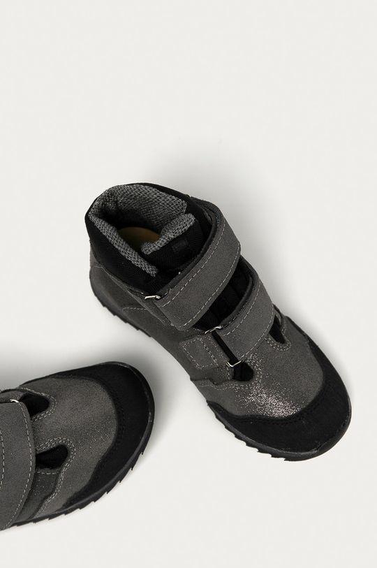 šedá Mrugała - Dětské boty