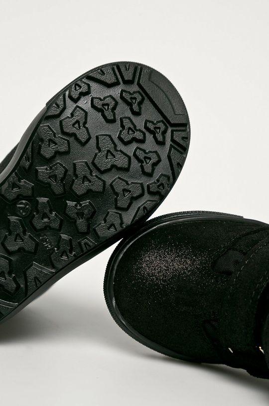fekete Mrugała - Gyerekcipő velúrból