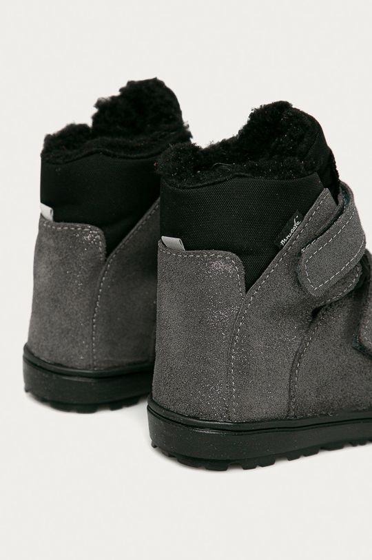 Mrugała - Dětské semišové boty  Svršek: Textilní materiál, Semišová kůže Vnitřek: Textilní materiál Podrážka: Umělá hmota