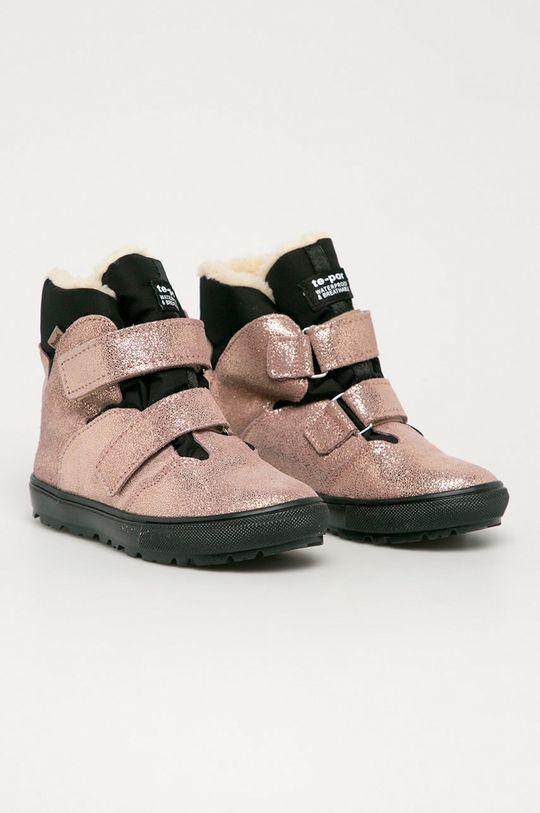 Mrugała - Gyerek cipő pasztell rózsaszín
