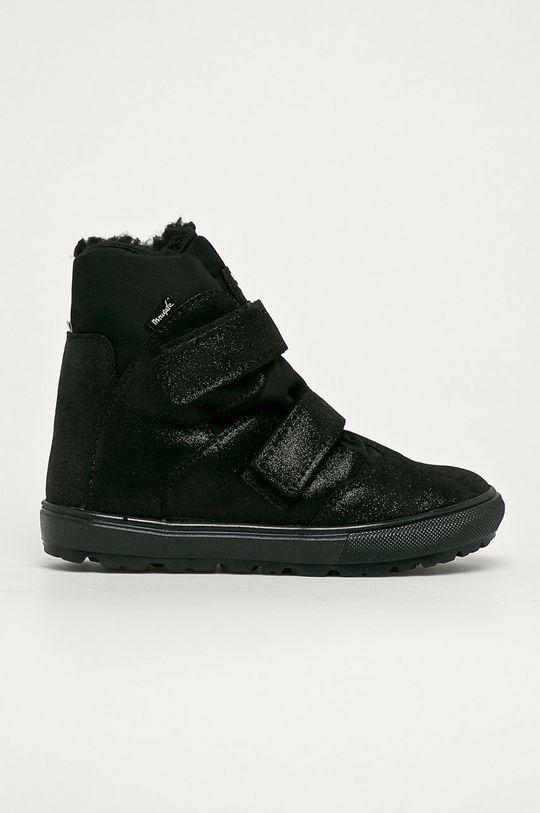 fekete Mrugała - Gyerek cipő Lány