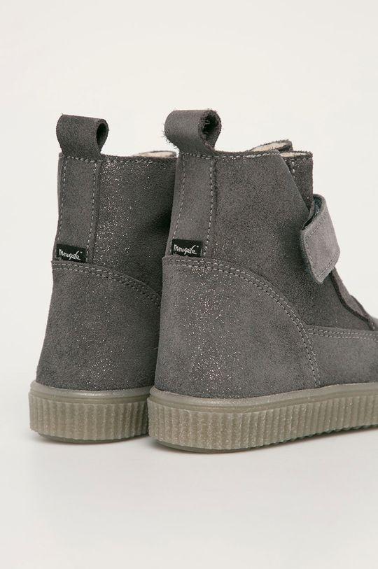 strieborná Mrugała - Detské topánky