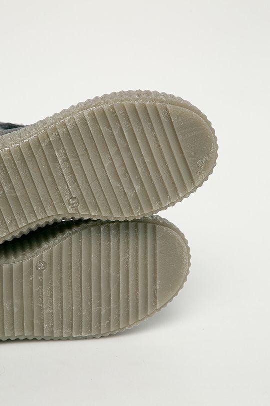 šedá Mrugała - Dětské semišové boty