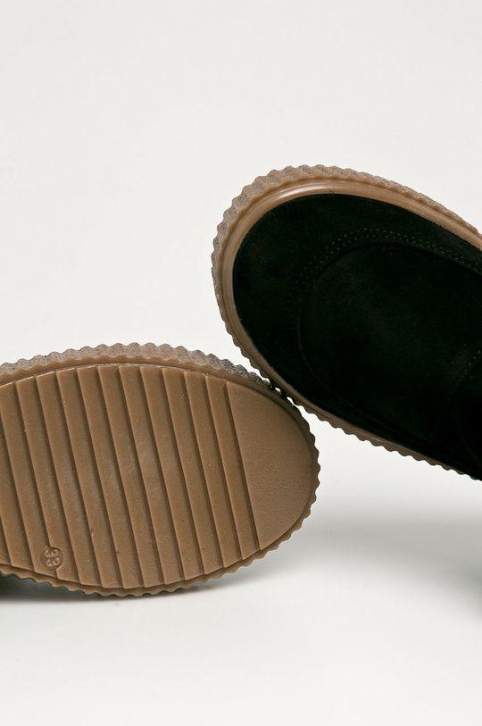 černá Mrugała - Dětské semišové boty
