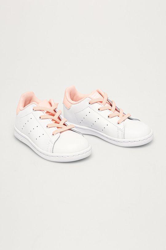 adidas Originals - Dětské boty Stan Smith El I bílá