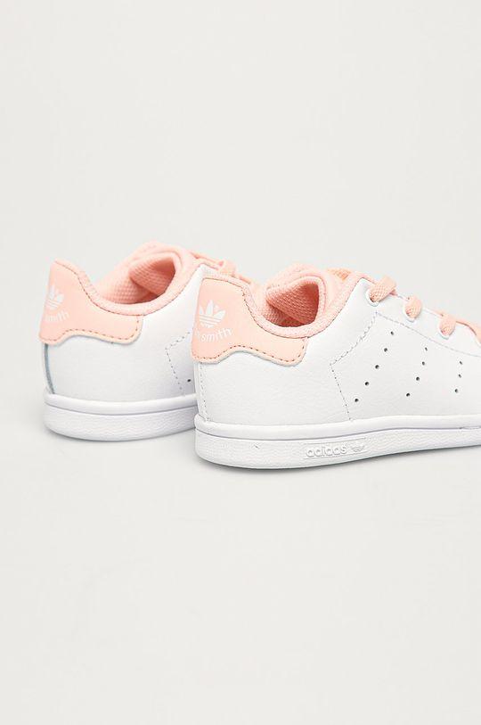 adidas Originals - Dětské boty Stan Smith El I  Svršek: Umělá hmota, Přírodní kůže Vnitřek: Textilní materiál Podrážka: Umělá hmota