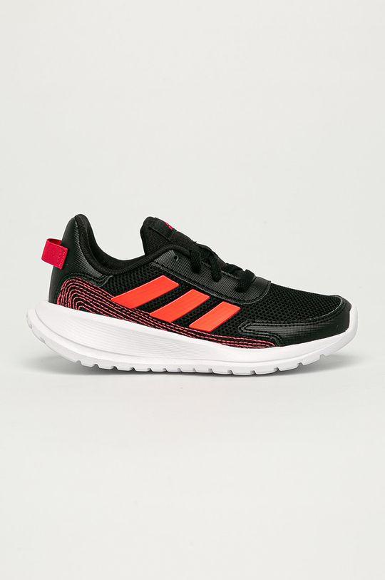 čierna adidas - Detské topánky Tensaur Run K Dievčenský