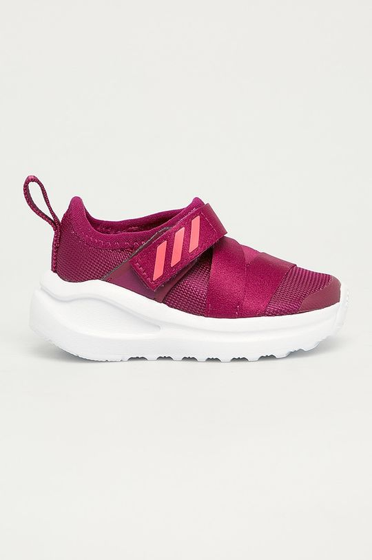 purpurový adidas Performance - Detské topánky FortaRun X Dievčenský