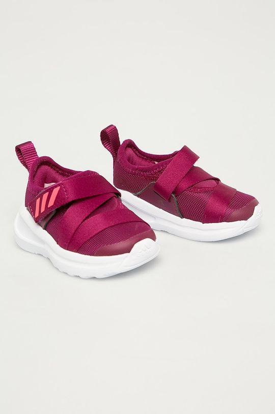 adidas Performance - Detské topánky FortaRun X purpurový