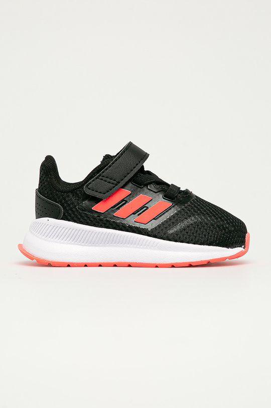 negru adidas - Pantofi copii Runfalcon De fete