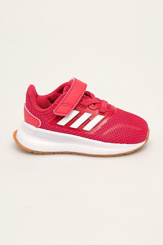 roz ascutit adidas - Pantofi copii Runfalcon De fete