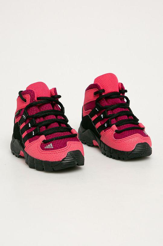 adidas Performance - Buty dziecięce Terrex Mid Gtx ostry różowy