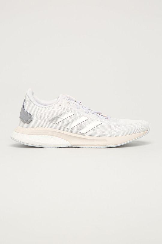 alb adidas Performance - Pantofi Supernova J De fete