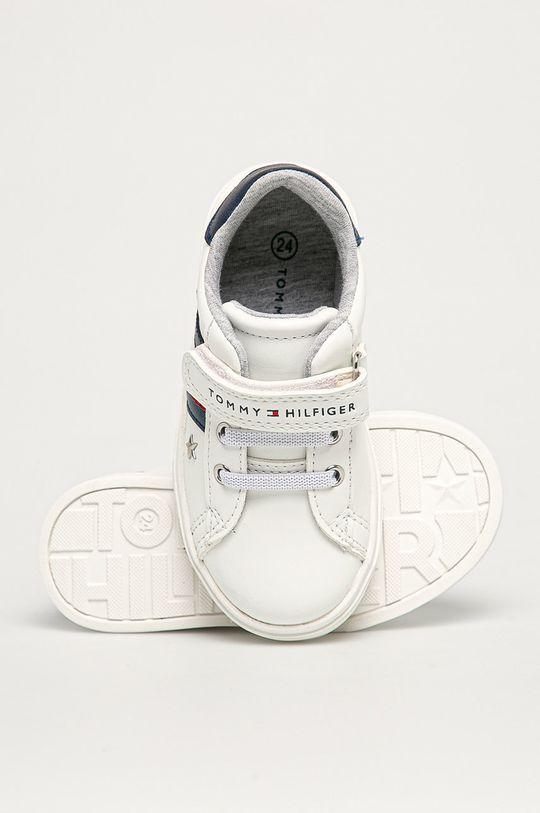 bílá Tommy Hilfiger - Dětské boty