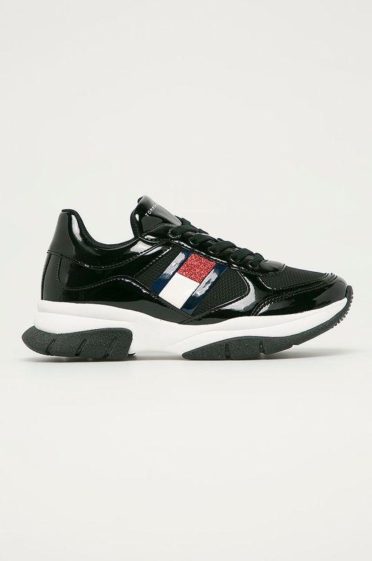 čierna Tommy Hilfiger - Detské topánky Dievčenský