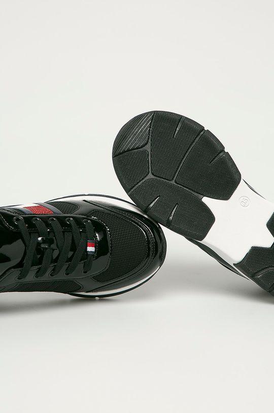 čierna Tommy Hilfiger - Detské topánky