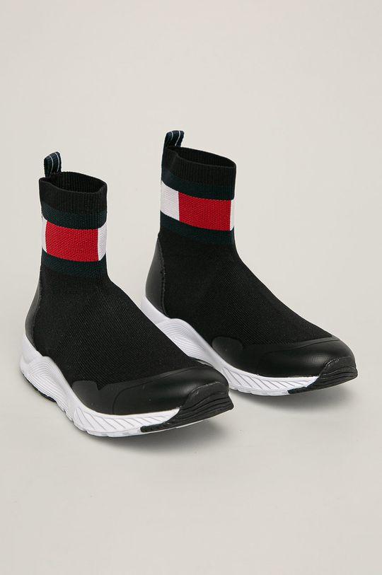 Tommy Hilfiger - Detské topánky čierna